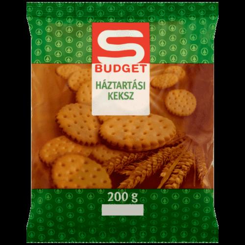 S-BUDGET HÁZTARTÁSI KEKSZ 200G