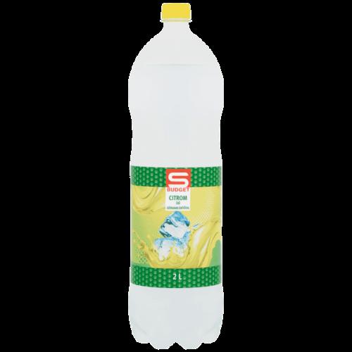 S-BUDGET CITROM ÍZŰ SZÉNSAVAS ÜDÍTŐITAL 2L