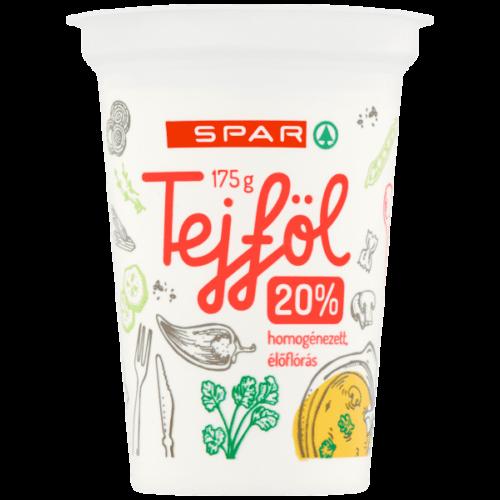 SPAR TEJFÖL 20% 175G