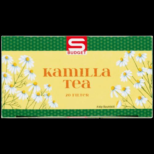S-BUDGET KAMILLA TEA 20 FILTER 30G