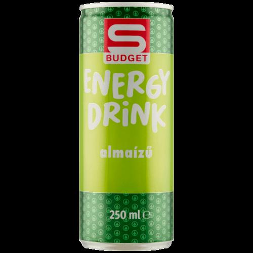 S-BUDGET ALMA-TUTTIFRUTTI ÍZŰ ENERGIAITAL 250ML