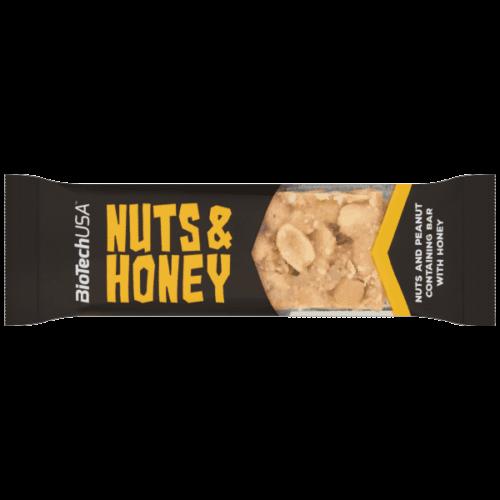 NUTS&HONEY SZELET MÉZZEL 35G