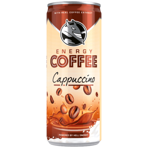 HELL ENERGY COFFEE CAPPUCCINO 250ML