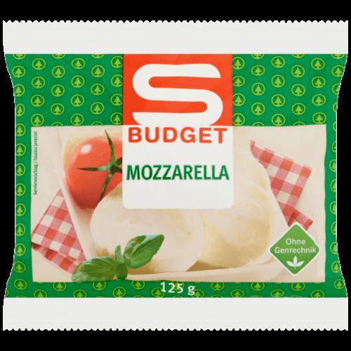 S-BUDGET MOZZARELLA SAJT 125G