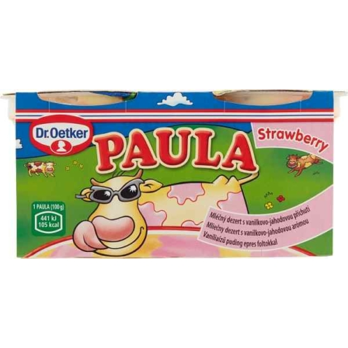 PAULA VANÍLIA PUDING EPRES FOLTOKKAL 2X100G