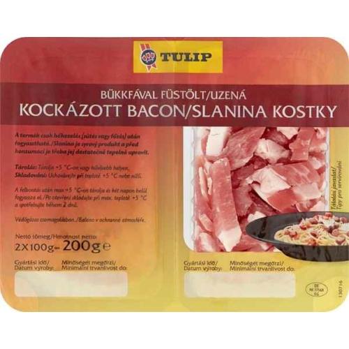 TULIP KOCKÁZOTT BACON 2X100G