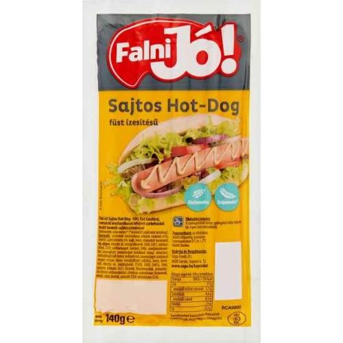 FALNI JÓ SAJTOS HOT-DOG 140G