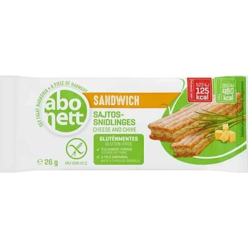ABONETT SANDWICH SAJTOS SNIDLINGES 26 G