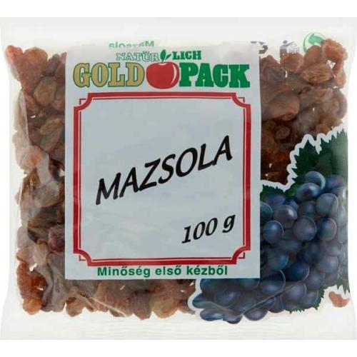 GOLDPACK MAZSOLA 100G