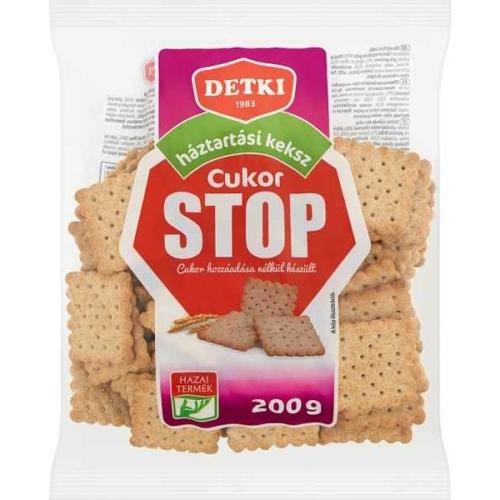 STOP CUKOR HÁZTARTÁSI KEKSZ 200G