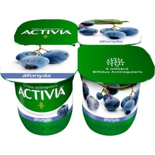 ACTIVIA JOGHURT ÁFONYÁS 4X125G