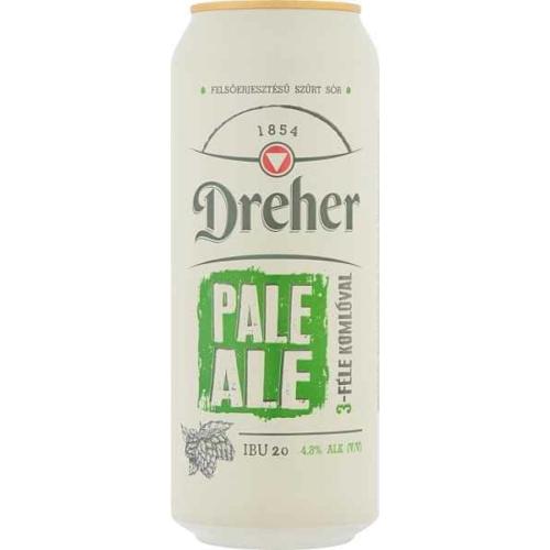 DREHER PALE ALE SÖR DOBOZOS 0,5L