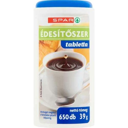 SPAR ÉDESÍTŐ TABLETTA 650DB 39G