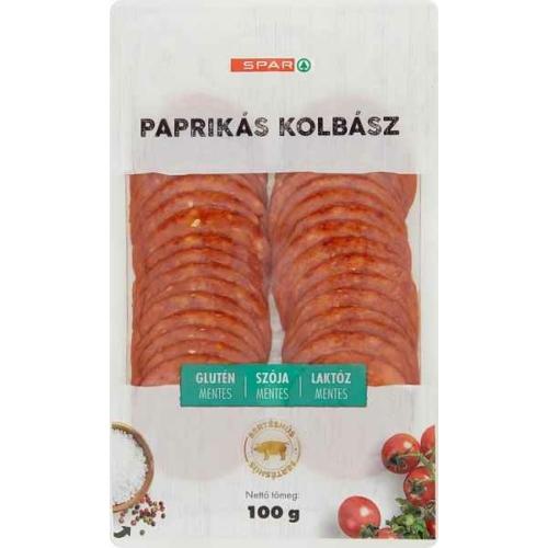 SPAR PAPRIKÁS KOLBÁSZ  100G