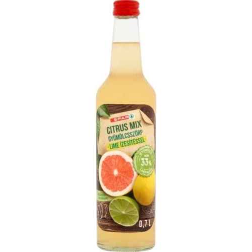 SPAR CITRUS MIX SZÖRP 0,7L