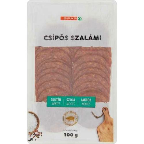 SPAR CSÍPŐS SZALÁMI 100G
