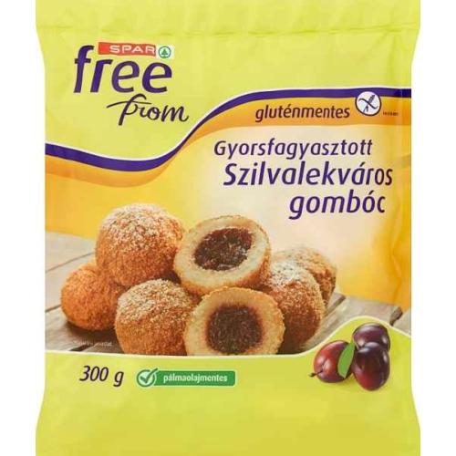 SPAR FREE FROM GLUTÉNMENTES SZILVALEKVÁROS GOMBÓC 300G