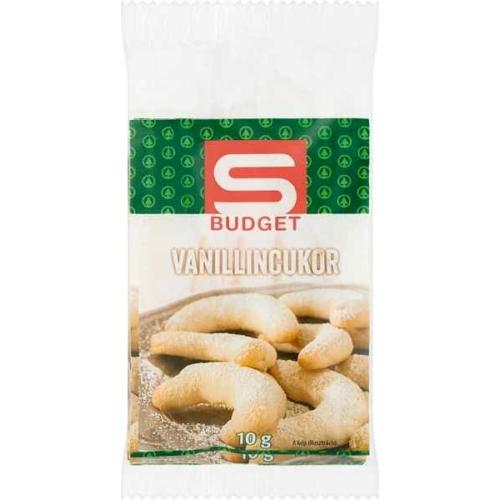 S-BUDGET VANILLIN CUKOR 5X10G