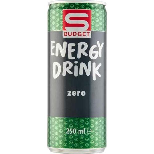 S-BUDGET TUTTIFRUTTI ÍZŰ CUKORMENTES ENERGIAITAL 250ML