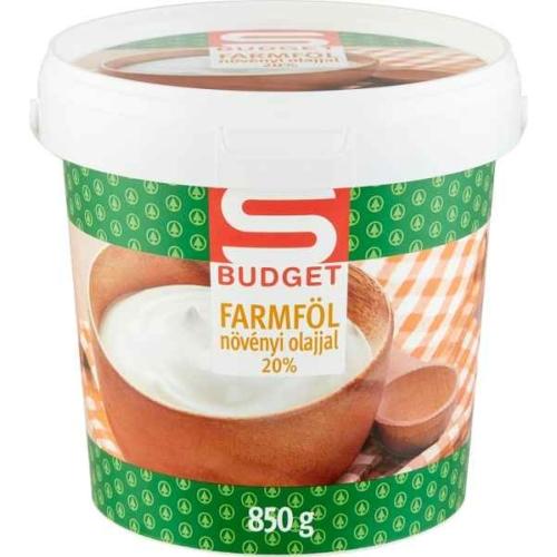 S-BUDGET FARMFÖL 20% 850G