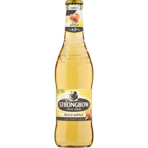 STRONGBOW GOLD CIDER ÜVEGES 0,33L