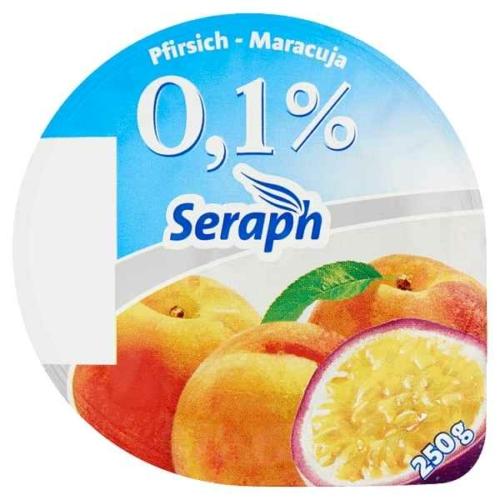 SERAPH GYÜMÖLCS JOGHURT 0,1% 4ÍZ 250G