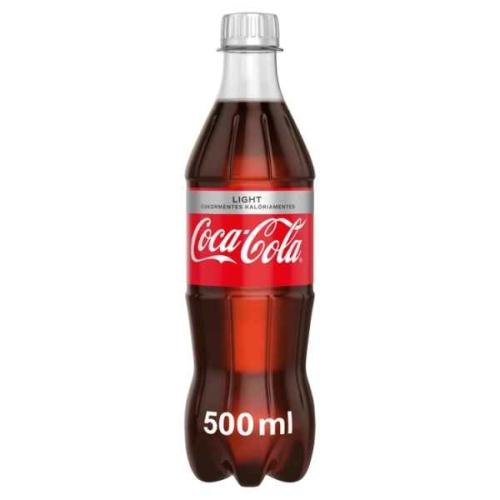 COCA-COLA LIGHT SZÉNSAVAS ÜDÍTŐITAL 0,5L