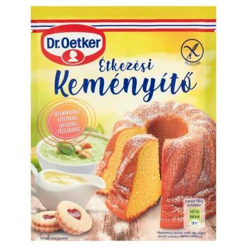 DR. OETKER ÉTKEZÉSI KEMÉNYÍTŐ 80 G