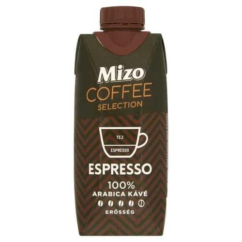 MIZO COFFEE SELECTION ESPRESSO UHT ZSÍRSZEGÉNY KÁVÉS TEJ 330 ML