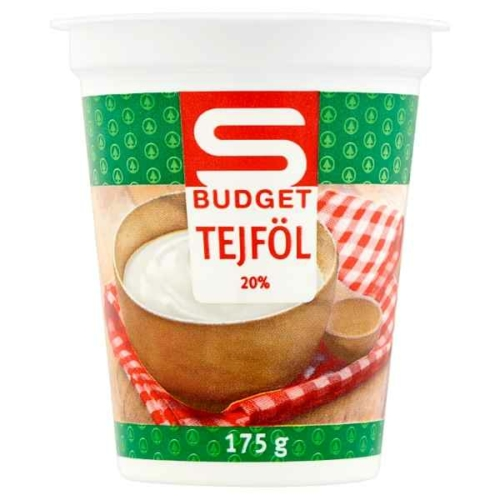 S-BUDGET TEJFÖL 20% 175G