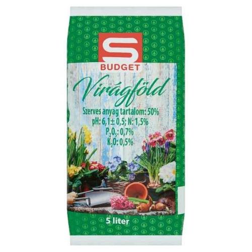 S-BUDGET VIRÁGFÖLD 5 L