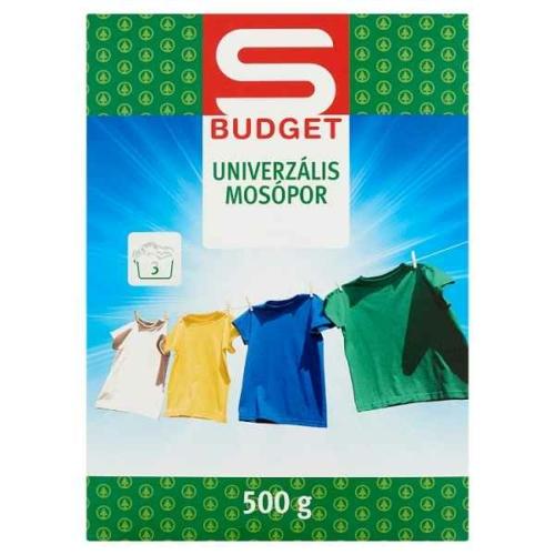 S-BUDGET MOSÓPOR UNIVERZÁLIS 500G