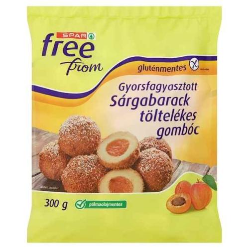 SPAR FREE FROM GLUTÉNMENTES SÁRGABARCKOS GOMBÓC 300G