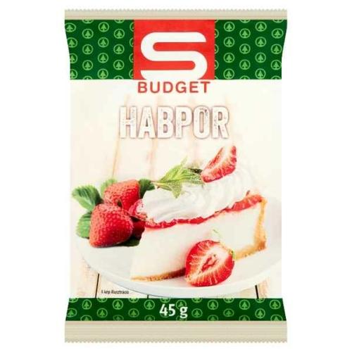 S-BUDGET HABPOR 45G