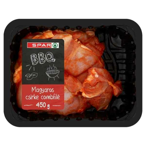 SPAR BBQ MAGYAROS CSIRKE COMBFILÉ 450 G