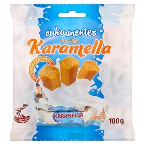 KARAMELLA CUKORMENTES 100G