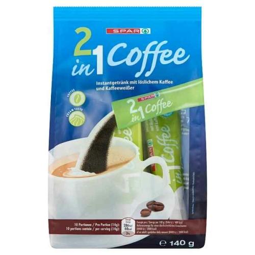 SPAR COFFEE 2IN1 KÁVÉSPECIALITÁS 10x14G